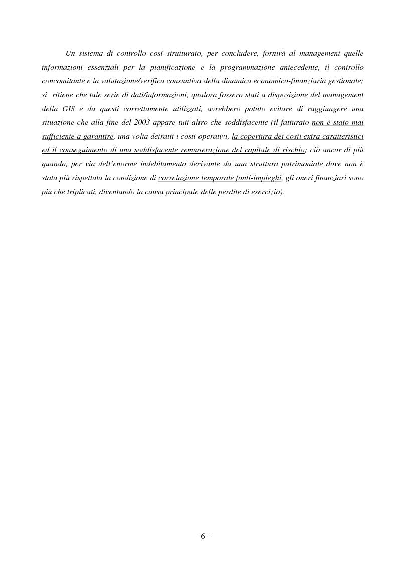 Anteprima della tesi: Il controllo di gestione nelle PMI: il caso GIS S.p.A., Pagina 6