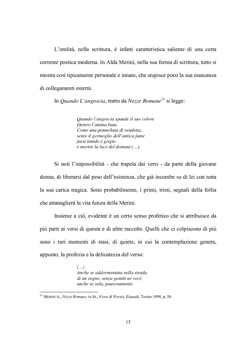 Anteprima della tesi: Il multiforme universo di Alda Merini. Temi e figure., Pagina 10