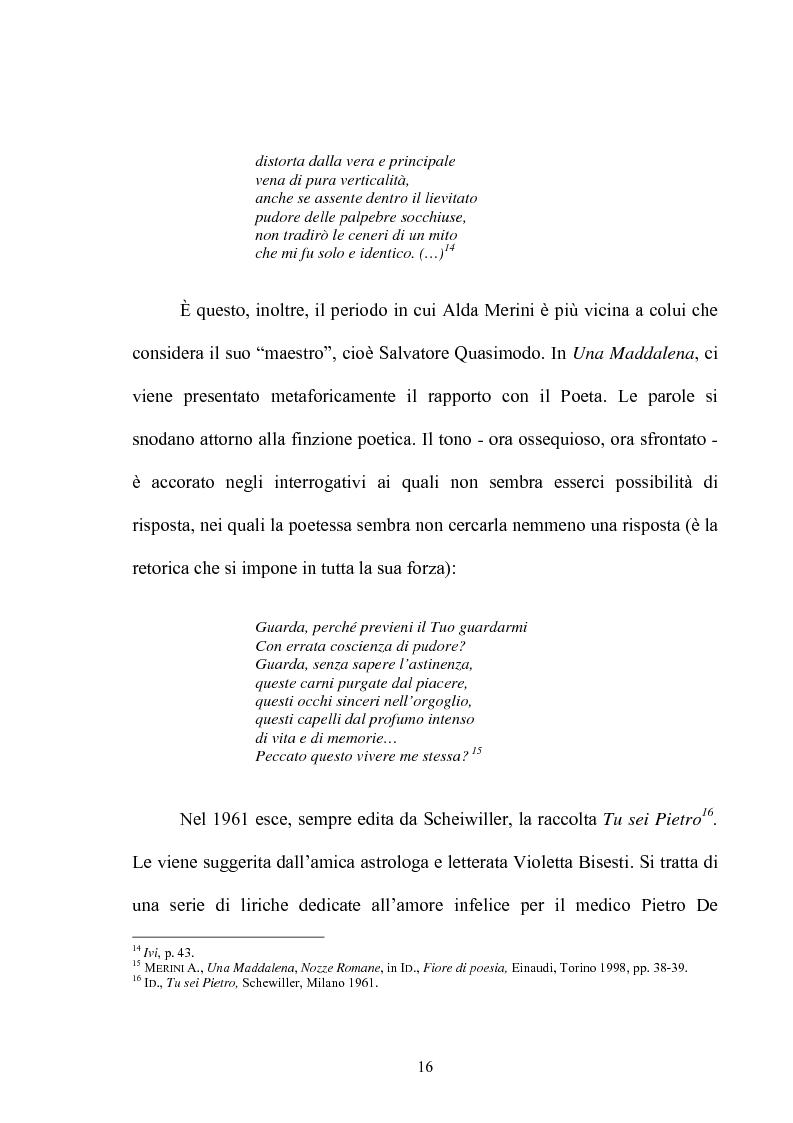 Anteprima della tesi: Il multiforme universo di Alda Merini. Temi e figure., Pagina 11