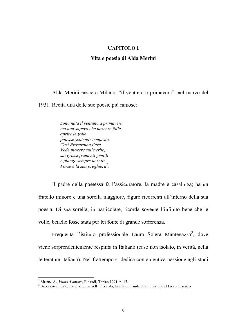 Anteprima della tesi: Il multiforme universo di Alda Merini. Temi e figure., Pagina 4
