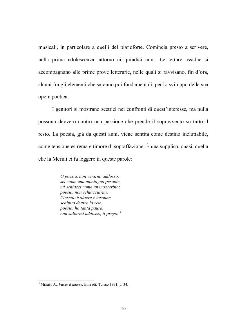 Anteprima della tesi: Il multiforme universo di Alda Merini. Temi e figure., Pagina 5