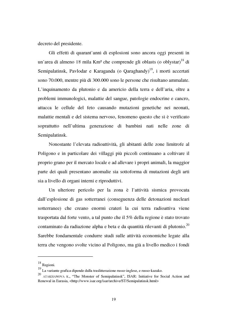 Anteprima della tesi: La transizione economica del Kazakistan, Pagina 14