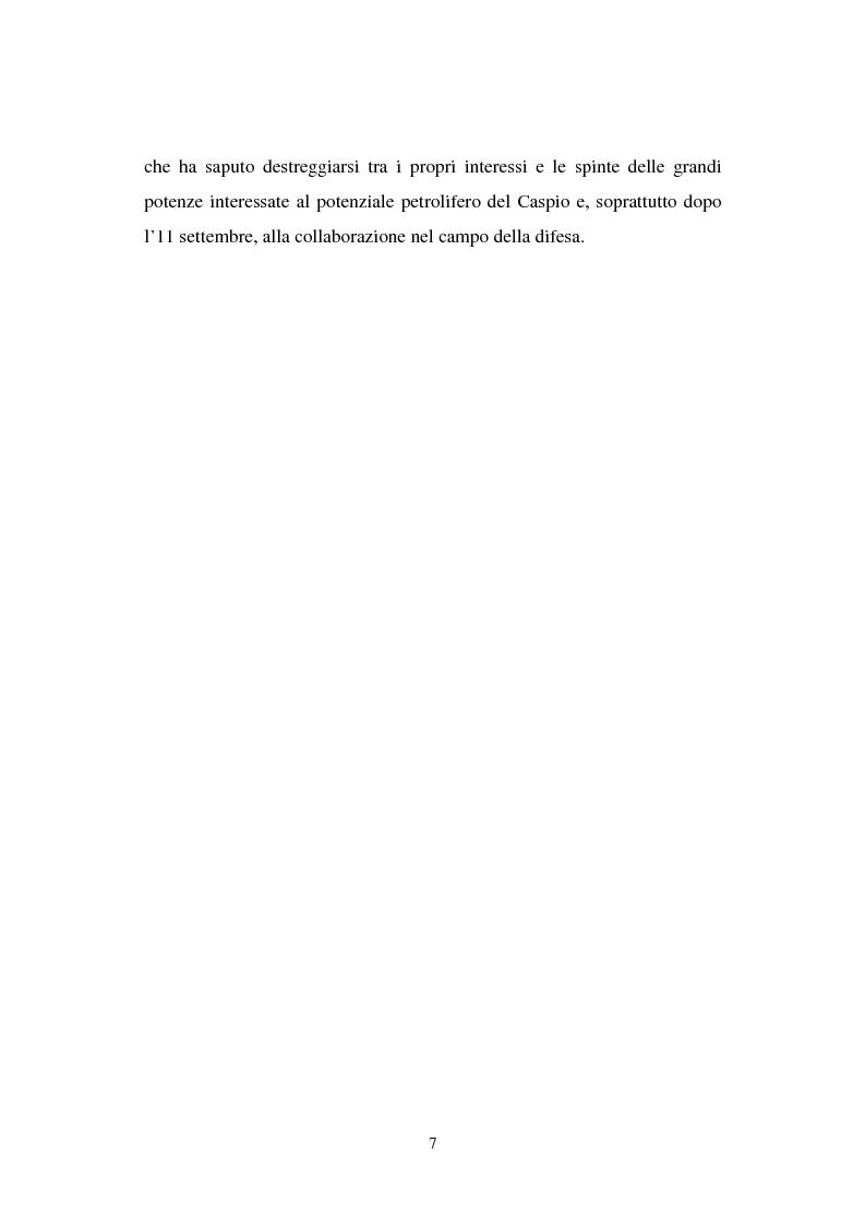 Anteprima della tesi: La transizione economica del Kazakistan, Pagina 3
