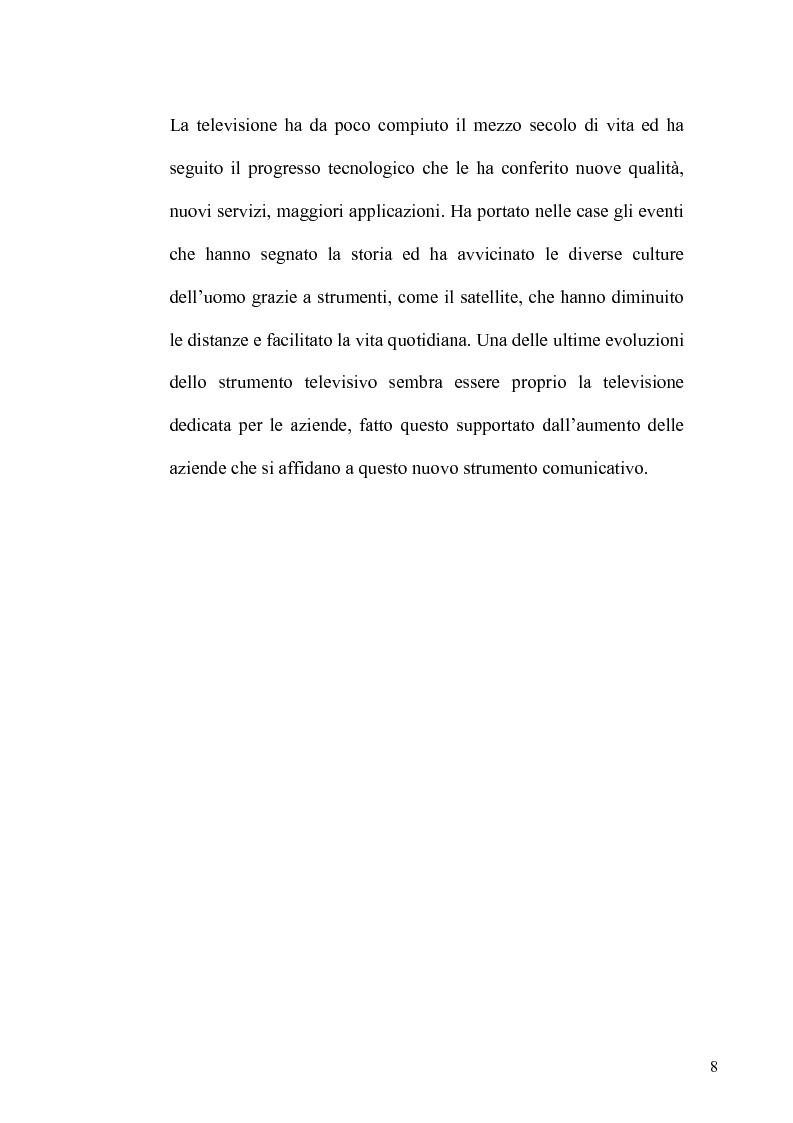 Anteprima della tesi: La TV Digitale per le imprese: il caso Telespazio, Pagina 6