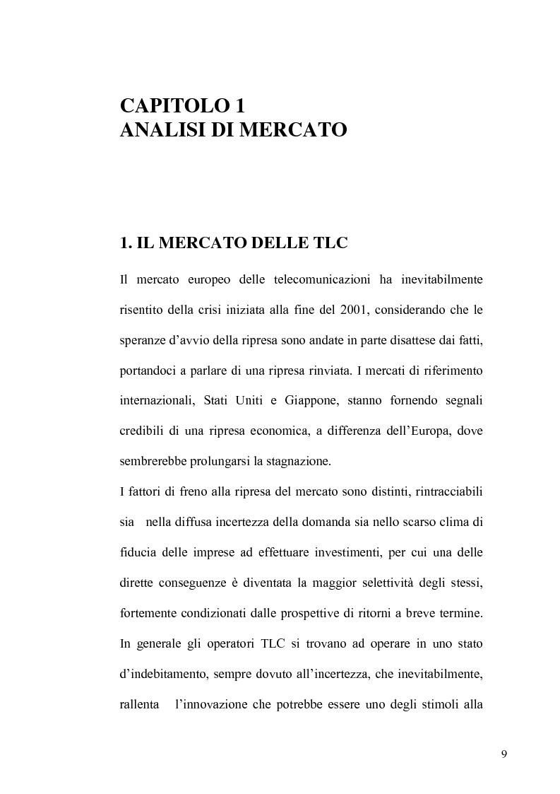 Anteprima della tesi: La TV Digitale per le imprese: il caso Telespazio, Pagina 7