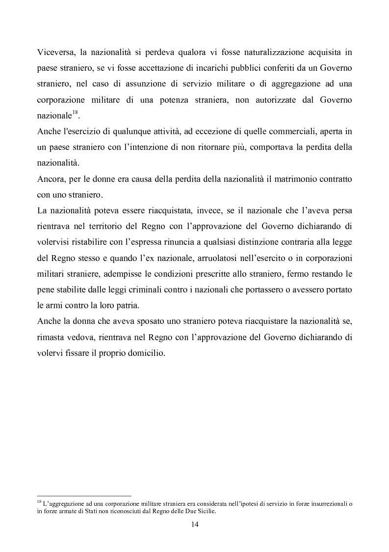 Anteprima della tesi: Le istituzioni politiche ed amministrative nel Regno delle Due Sicilie dal 1815 al 1860, Pagina 11