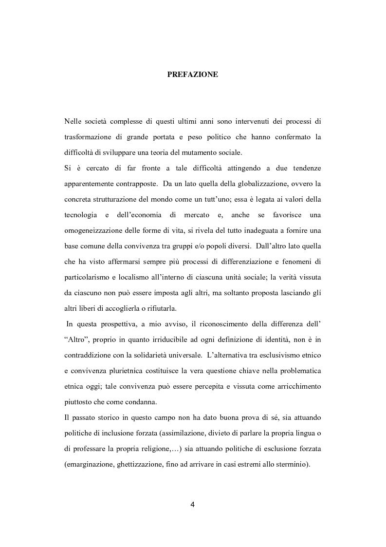 Anteprima della tesi: Euroregione Alto Adige-Suedtirol: un modello di convivenza interetnica in Europa?, Pagina 1