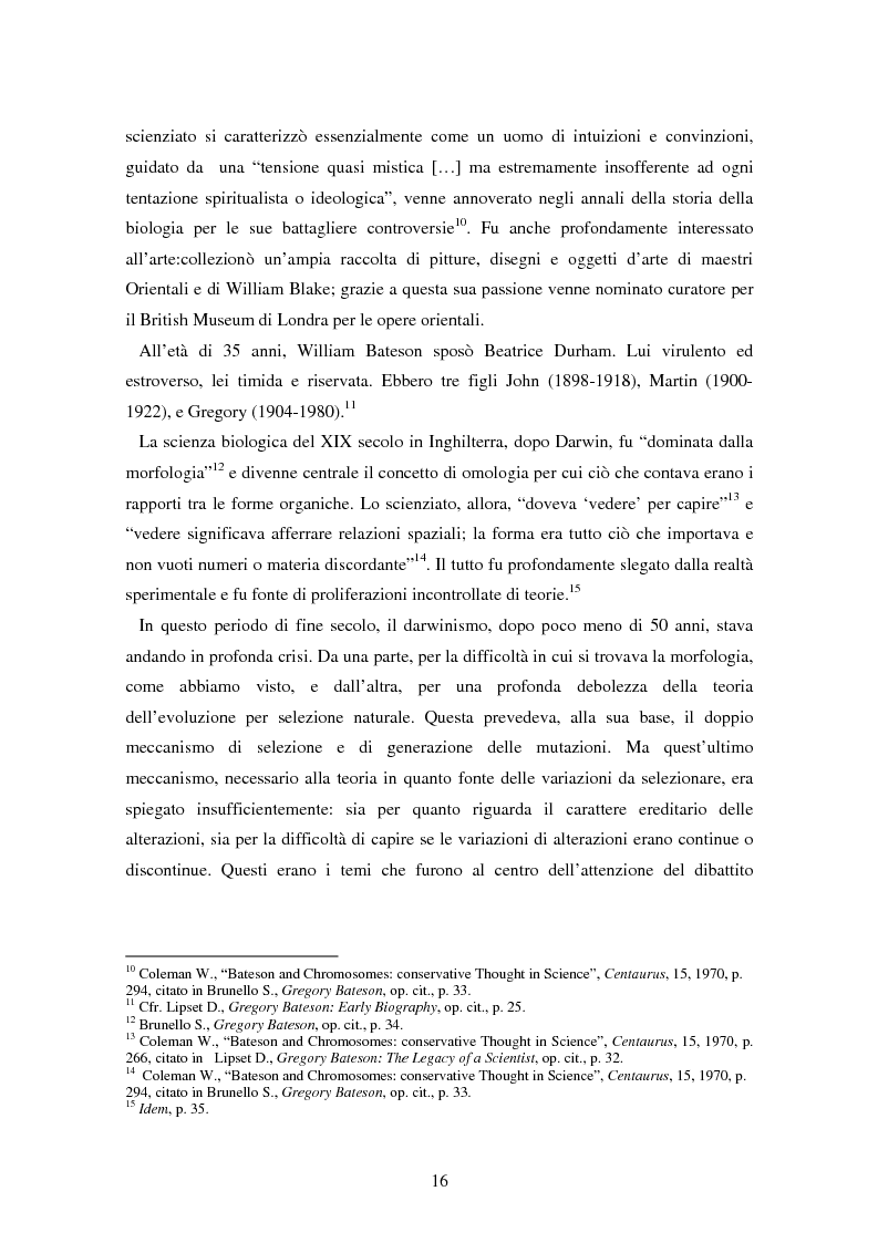 Anteprima della tesi: Forme amorfe in un campo vitale: i gruppi creativi nella vita e nel pensiero di Gregory Bateson, Pagina 6