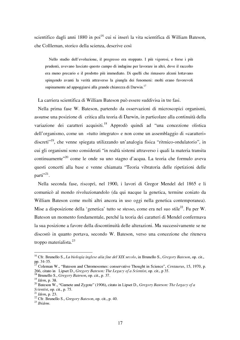 Anteprima della tesi: Forme amorfe in un campo vitale: i gruppi creativi nella vita e nel pensiero di Gregory Bateson, Pagina 7