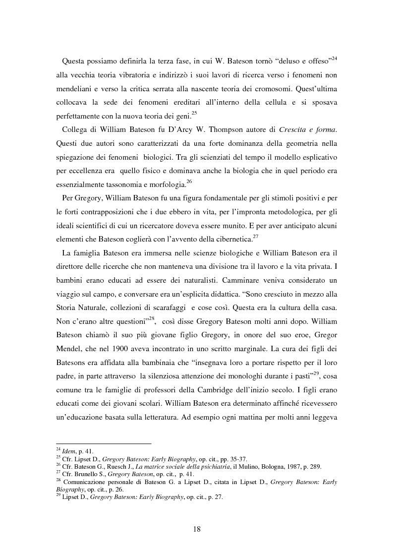 Anteprima della tesi: Forme amorfe in un campo vitale: i gruppi creativi nella vita e nel pensiero di Gregory Bateson, Pagina 8
