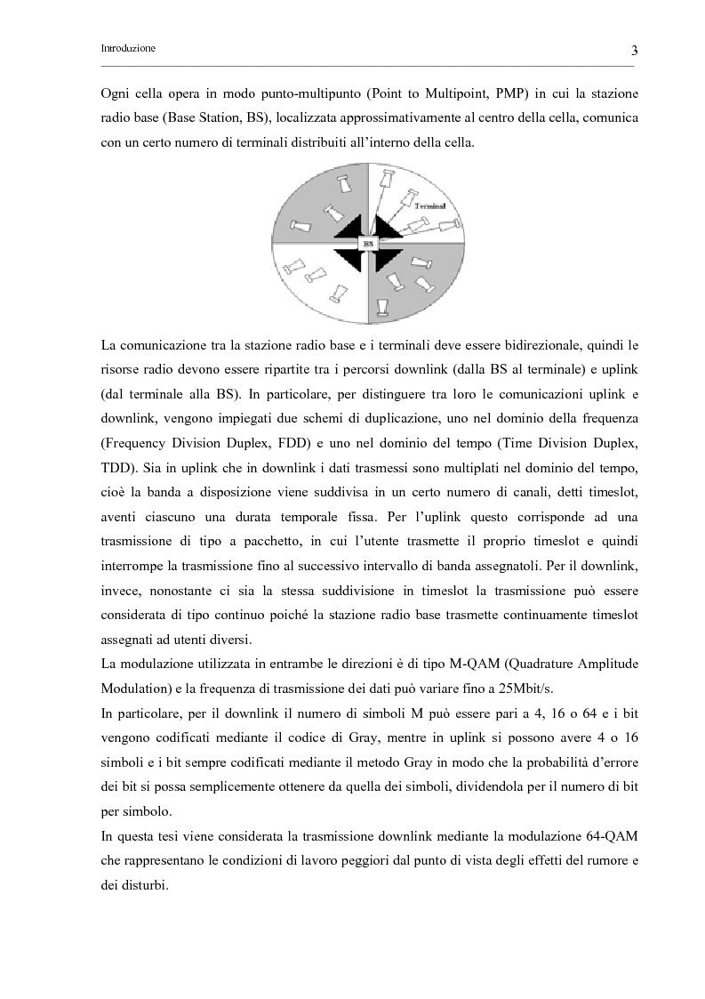 Anteprima della tesi: Tecniche di sincronizzazione di simbolo per modulazioni M-QAM, Pagina 3