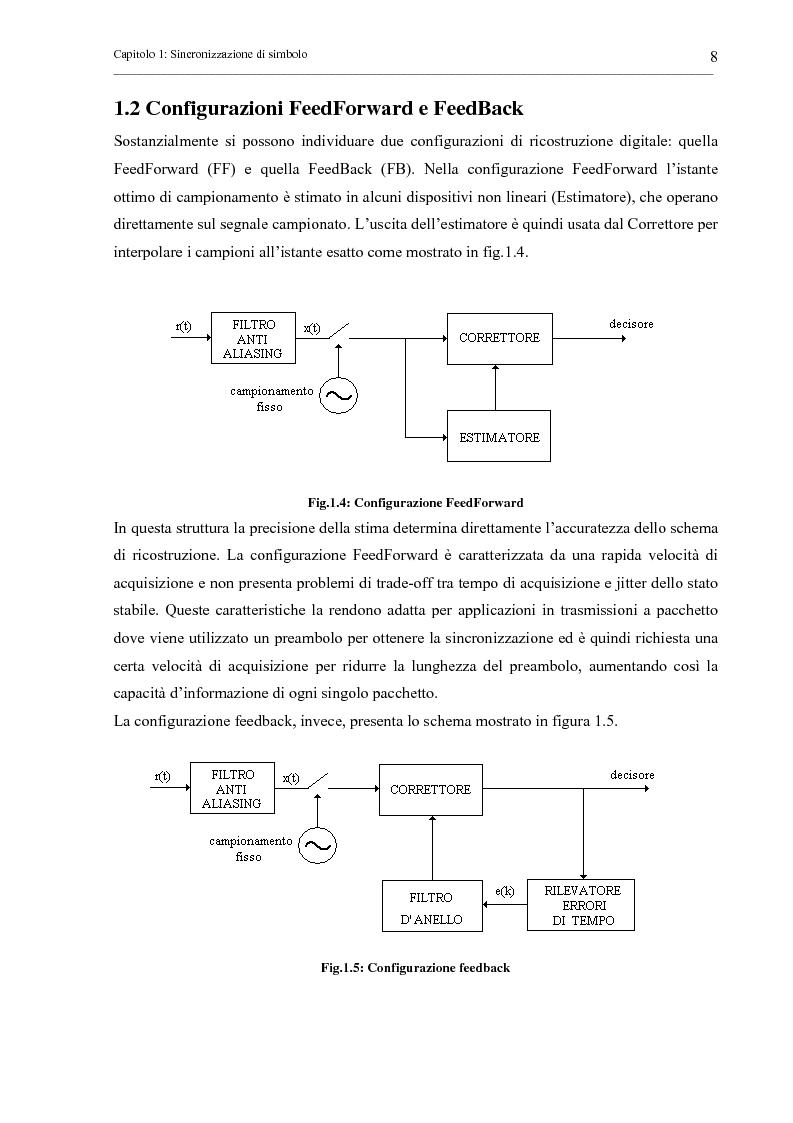 Anteprima della tesi: Tecniche di sincronizzazione di simbolo per modulazioni M-QAM, Pagina 8