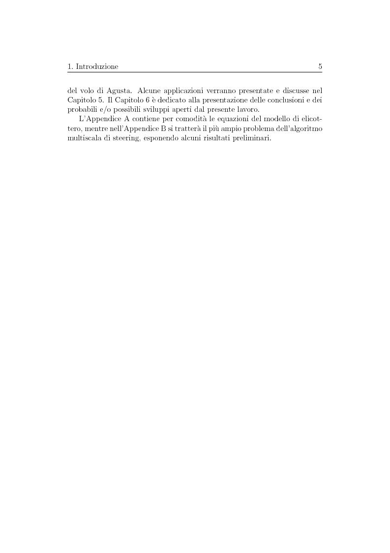 Anteprima della tesi: Ottimizzazione di Manovre per Velivoli ad Ala Rotante, Pagina 5