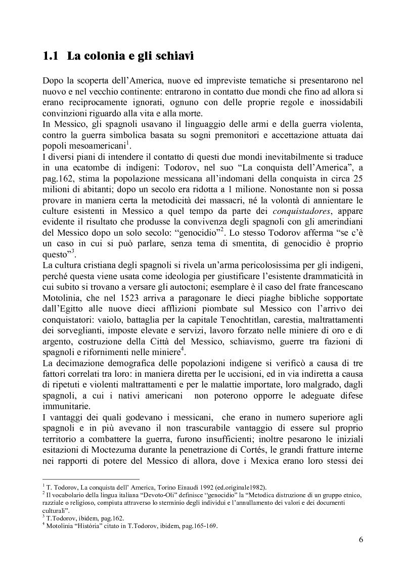 Anteprima della tesi: Identità e diritti delle minoranze etniche in Messico: la Costa Chica di Oaxaca e Guerrero, Pagina 2