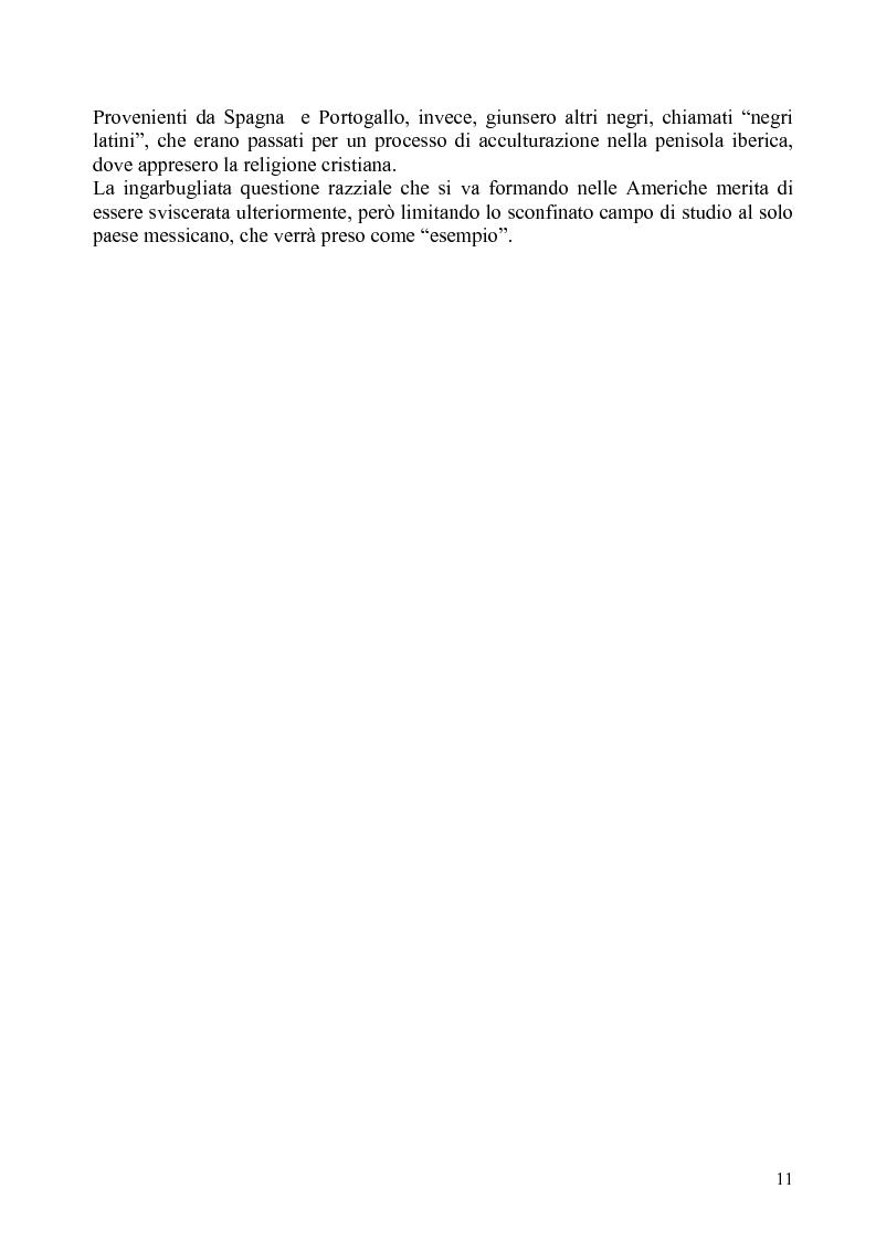 Anteprima della tesi: Identità e diritti delle minoranze etniche in Messico: la Costa Chica di Oaxaca e Guerrero, Pagina 7