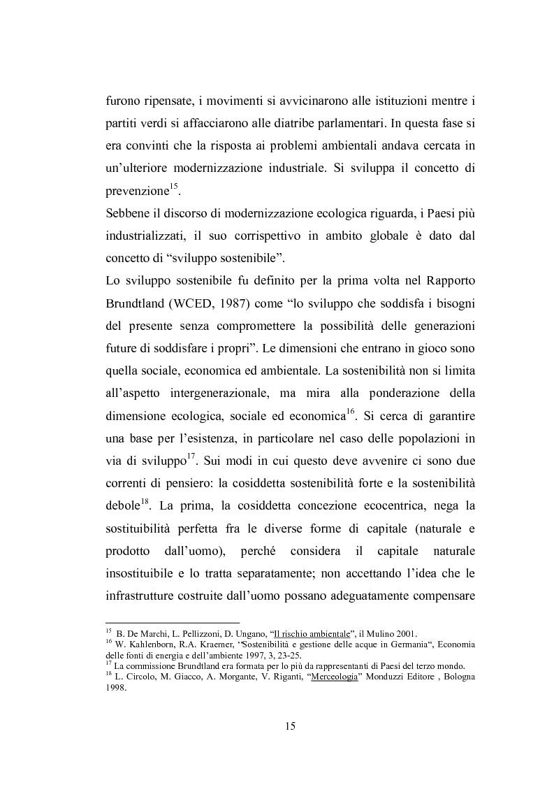 Anteprima della tesi: Studio sugli strumenti volontari di gestione ambientale: Analisi delle dichiarazioni ambientali EMAS relative a cicli di smaltimento dei rifiuti, Pagina 10