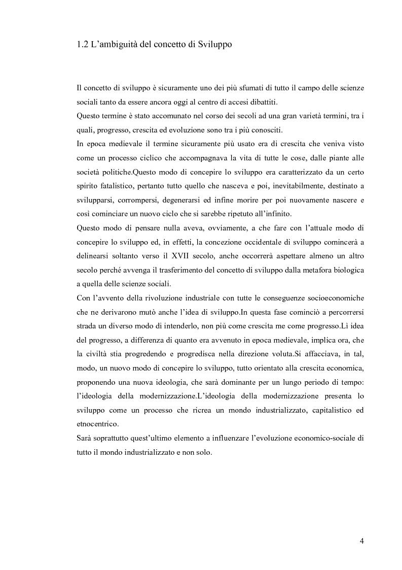 Anteprima della tesi: Il concetto di sostenibilità tra rio 1992 e johannesburg 2002, Pagina 4