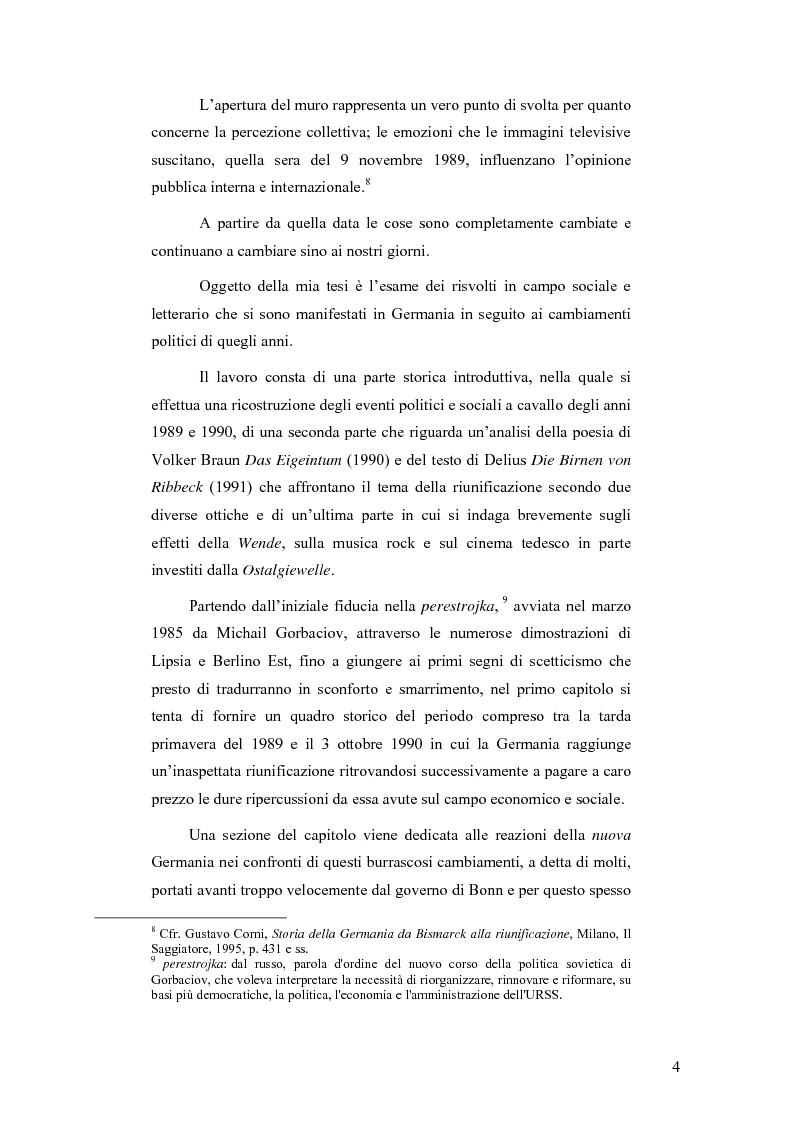"""Anteprima della tesi: """"Ostalgie"""": la riunificazione tedesca tra presente e passato, Pagina 4"""