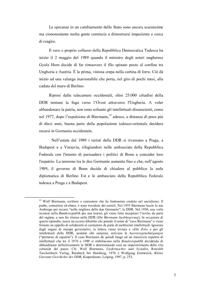 """Anteprima della tesi: """"Ostalgie"""": la riunificazione tedesca tra presente e passato, Pagina 7"""
