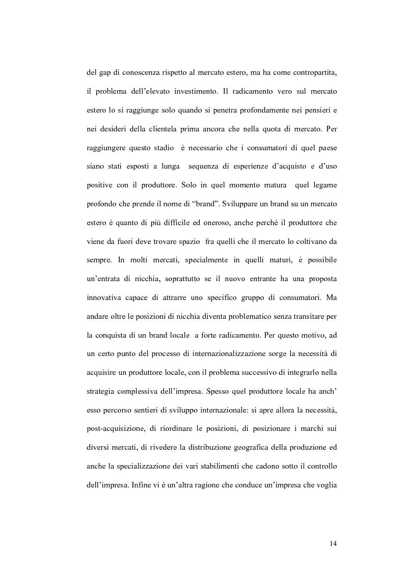Anteprima della tesi: Il processo di localizzazione produttiva di un'impresa internazionale, Pagina 10