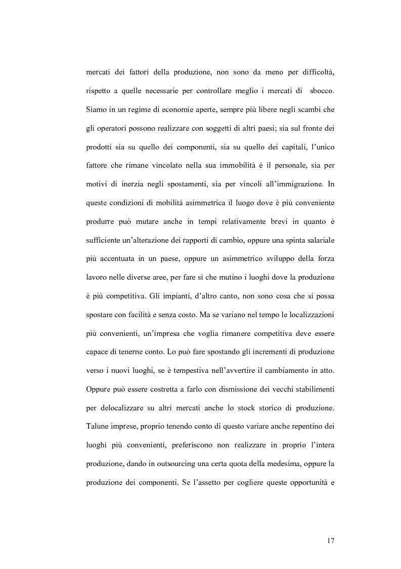 Anteprima della tesi: Il processo di localizzazione produttiva di un'impresa internazionale, Pagina 13