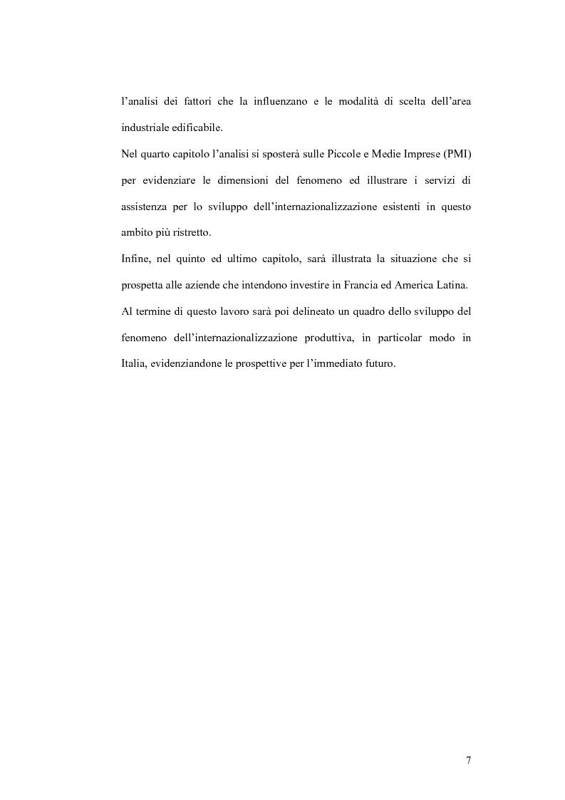 Anteprima della tesi: Il processo di localizzazione produttiva di un'impresa internazionale, Pagina 3