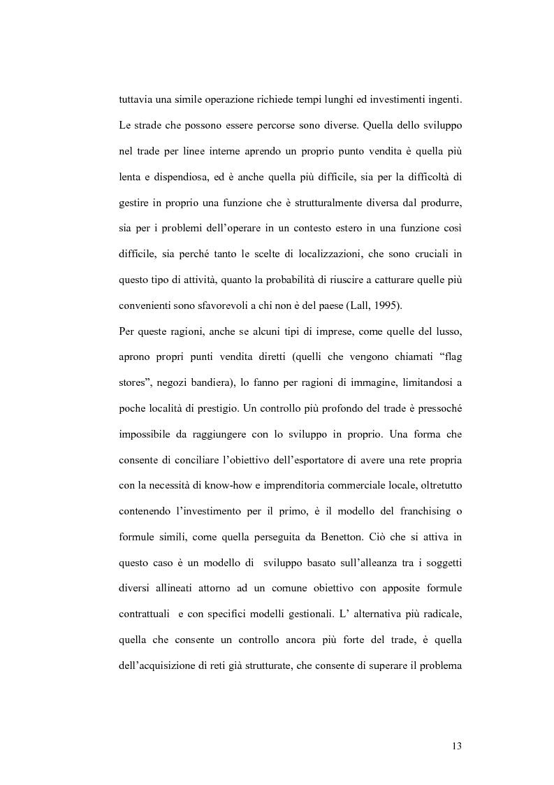 Anteprima della tesi: Il processo di localizzazione produttiva di un'impresa internazionale, Pagina 9