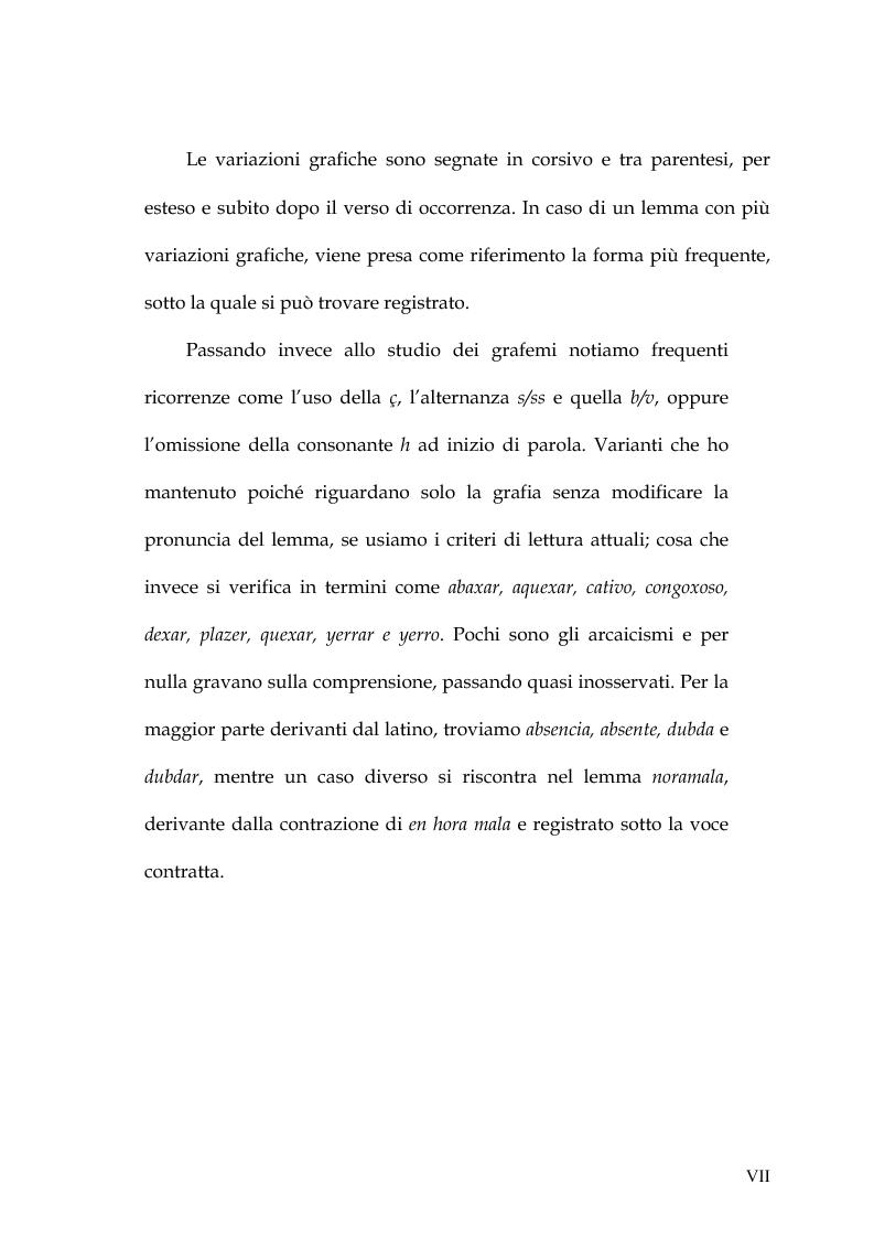 Anteprima della tesi: Rimario e lessico in rima delle poesie di Jorge Manrique, Pagina 7