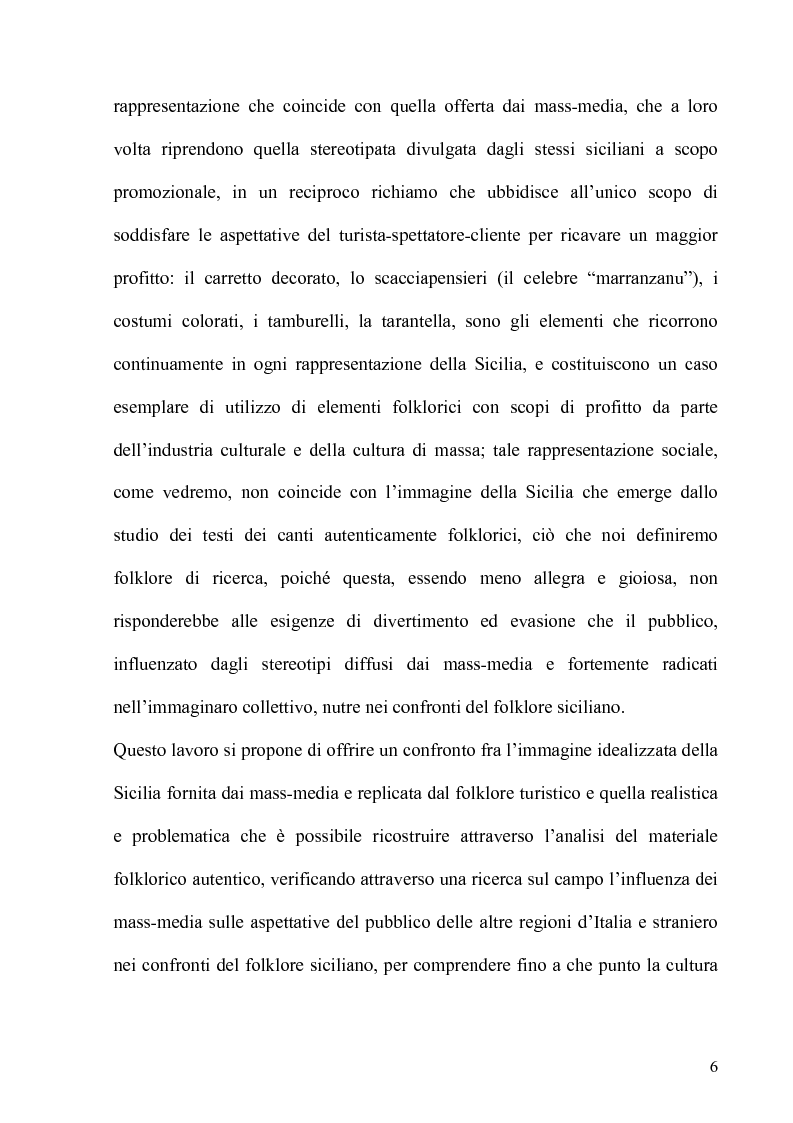 Anteprima della tesi: Folklore turistico e di ricerca: uno studio sulla percezione della nostra Isola, Pagina 3