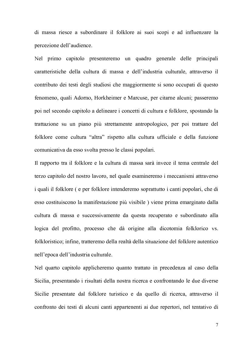 Anteprima della tesi: Folklore turistico e di ricerca: uno studio sulla percezione della nostra Isola, Pagina 4