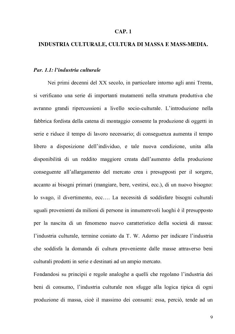 Anteprima della tesi: Folklore turistico e di ricerca: uno studio sulla percezione della nostra Isola, Pagina 6