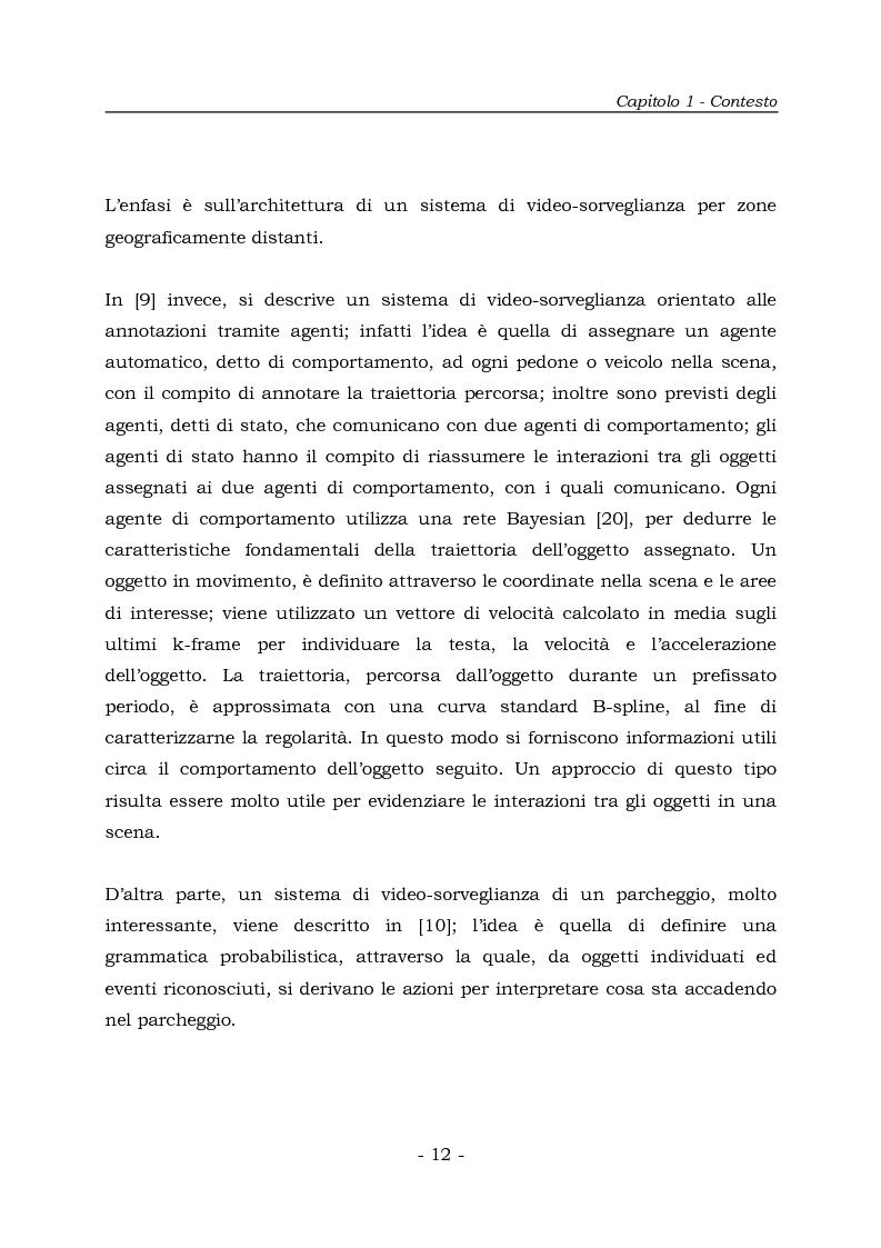 Anteprima della tesi: Analisi e Riconoscemento di traiettorie di oggetti mobili, Pagina 12