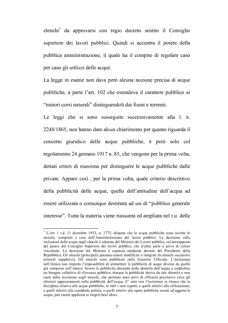 Anteprima della tesi: Gestione e tutela delle acque, Pagina 5