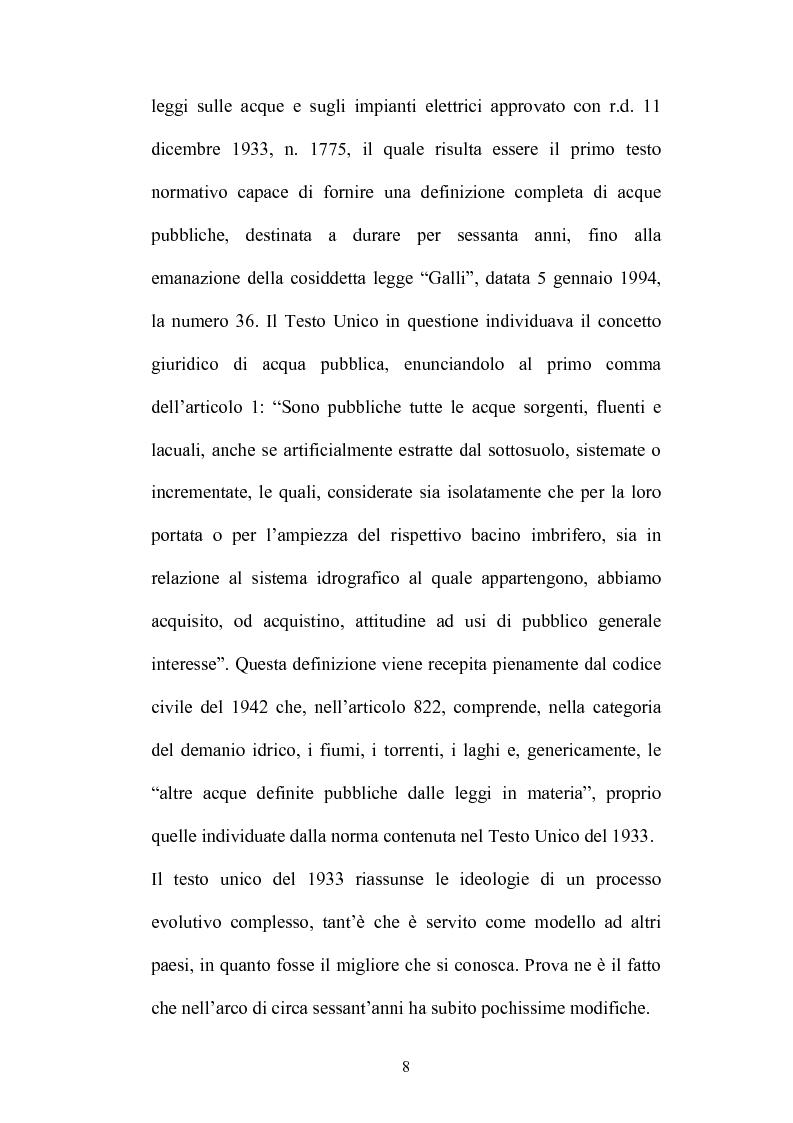 Anteprima della tesi: Gestione e tutela delle acque, Pagina 6