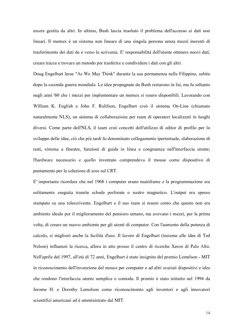 Anteprima della tesi: Progetto e realizzazione di un corso interdisciplinare di fisiologia e bioingegneria cardiovascolare realizzato con tecnologie multimediali, Pagina 10