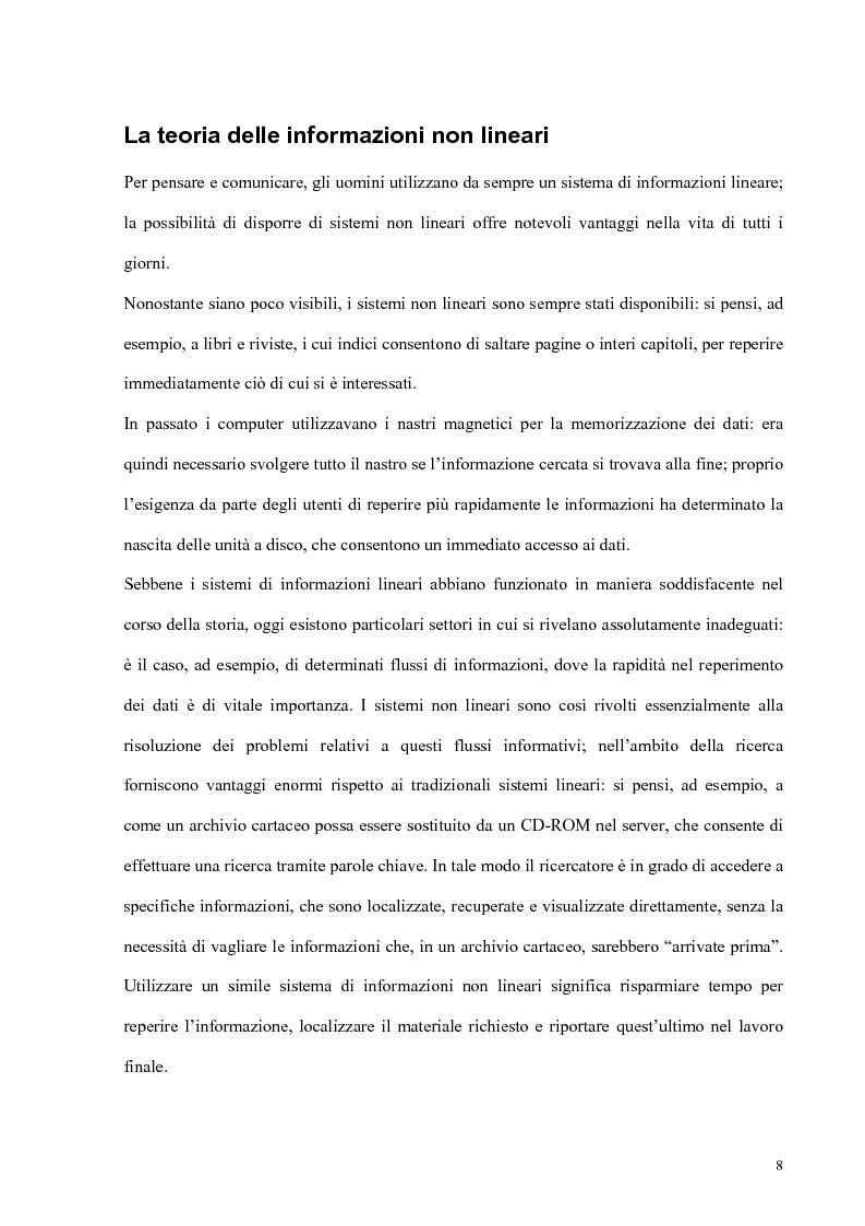 Anteprima della tesi: Progetto e realizzazione di un corso interdisciplinare di fisiologia e bioingegneria cardiovascolare realizzato con tecnologie multimediali, Pagina 4