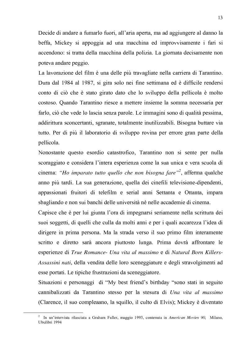 Anteprima della tesi: Quentin Tarantino, sceneggiatore: un caso anomalo nello studio system hollywoodiano, Pagina 10