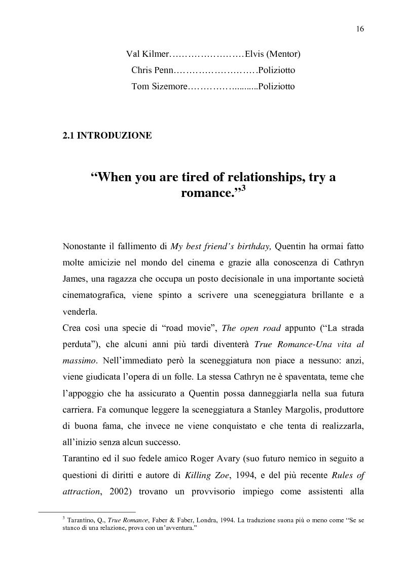 Anteprima della tesi: Quentin Tarantino, sceneggiatore: un caso anomalo nello studio system hollywoodiano, Pagina 13