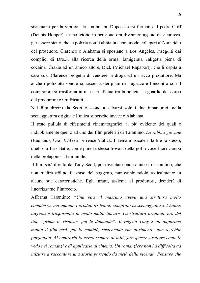 Anteprima della tesi: Quentin Tarantino, sceneggiatore: un caso anomalo nello studio system hollywoodiano, Pagina 15