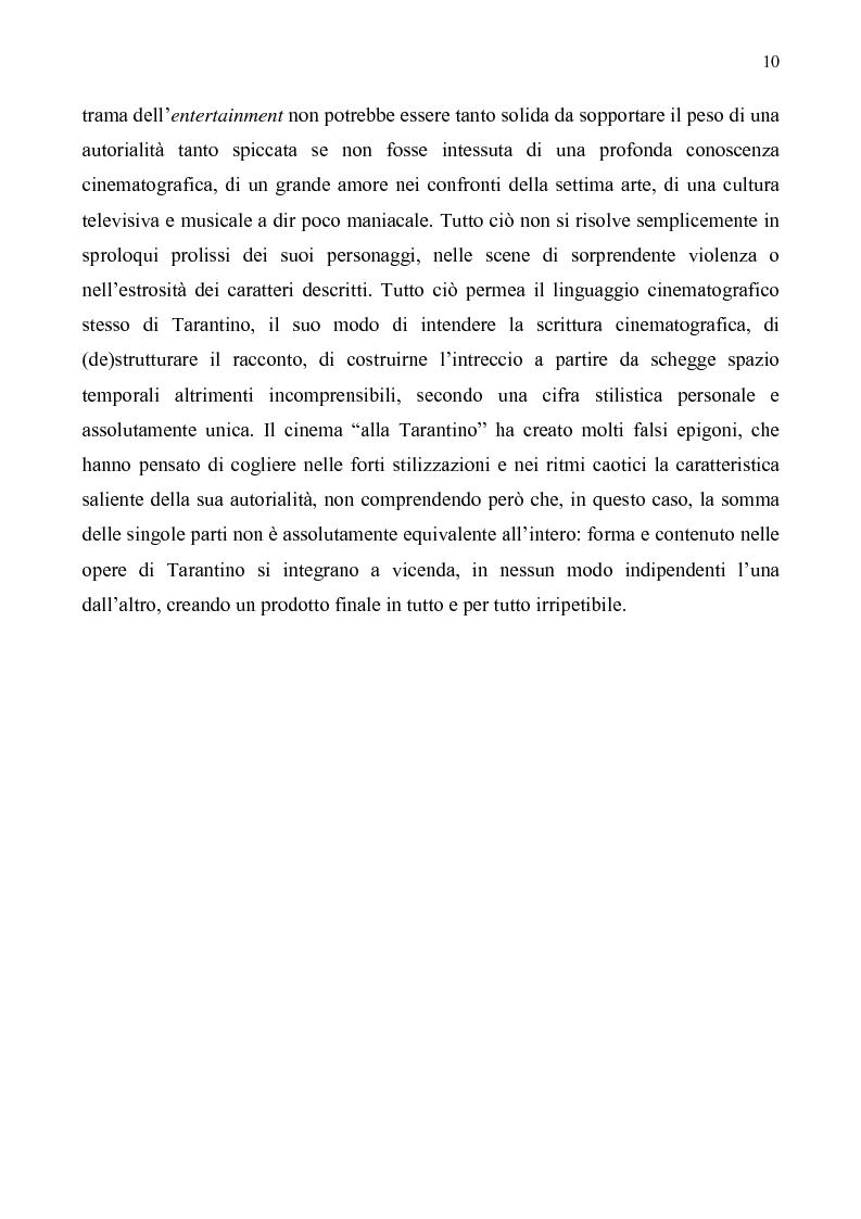 Anteprima della tesi: Quentin Tarantino, sceneggiatore: un caso anomalo nello studio system hollywoodiano, Pagina 7