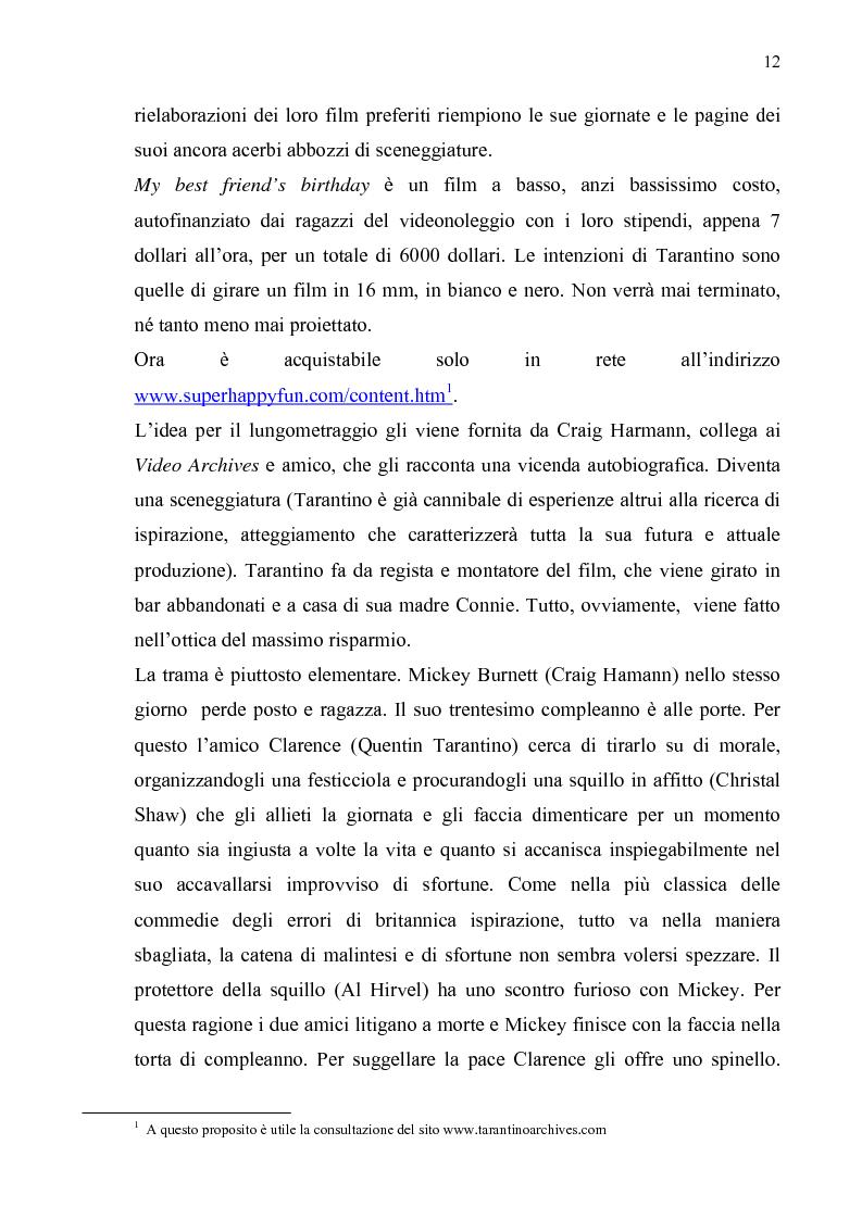Anteprima della tesi: Quentin Tarantino, sceneggiatore: un caso anomalo nello studio system hollywoodiano, Pagina 9