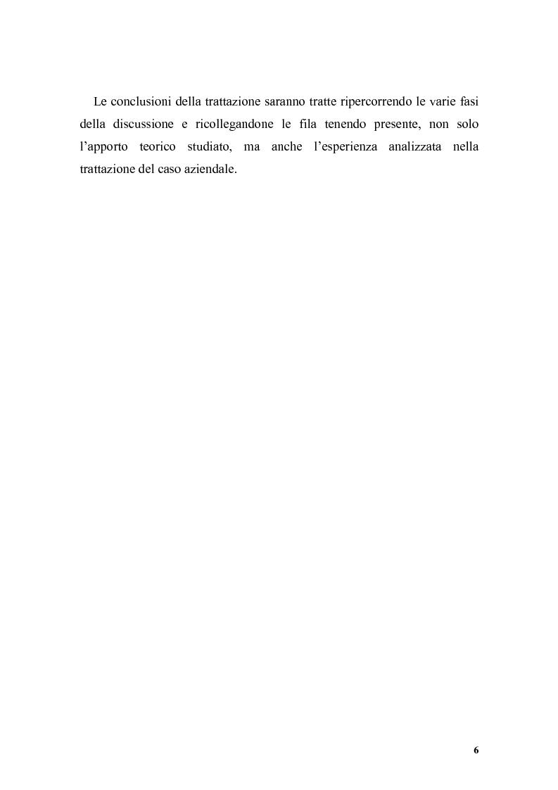 Anteprima della tesi: Il posizionamento strategico come driver competitivo, Pagina 3