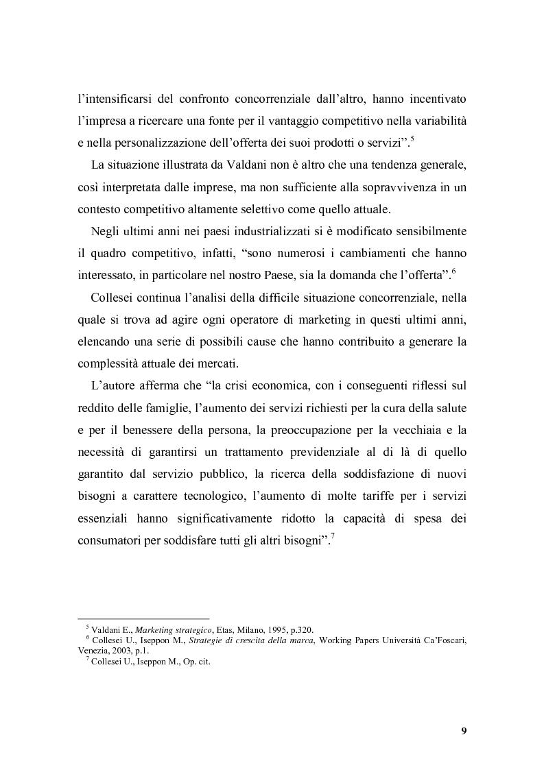 Anteprima della tesi: Il posizionamento strategico come driver competitivo, Pagina 6