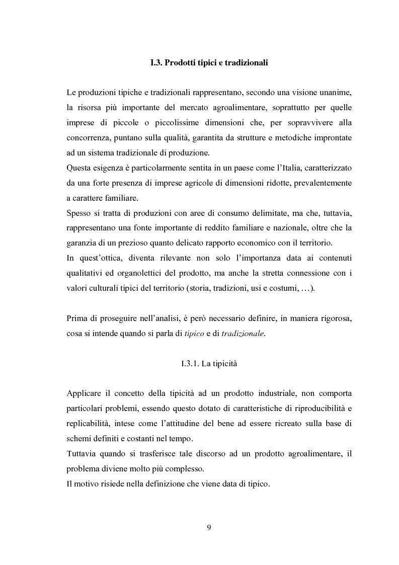 Anteprima della tesi: I Profili della Qualità nel Settore Agroalimentare, Pagina 9