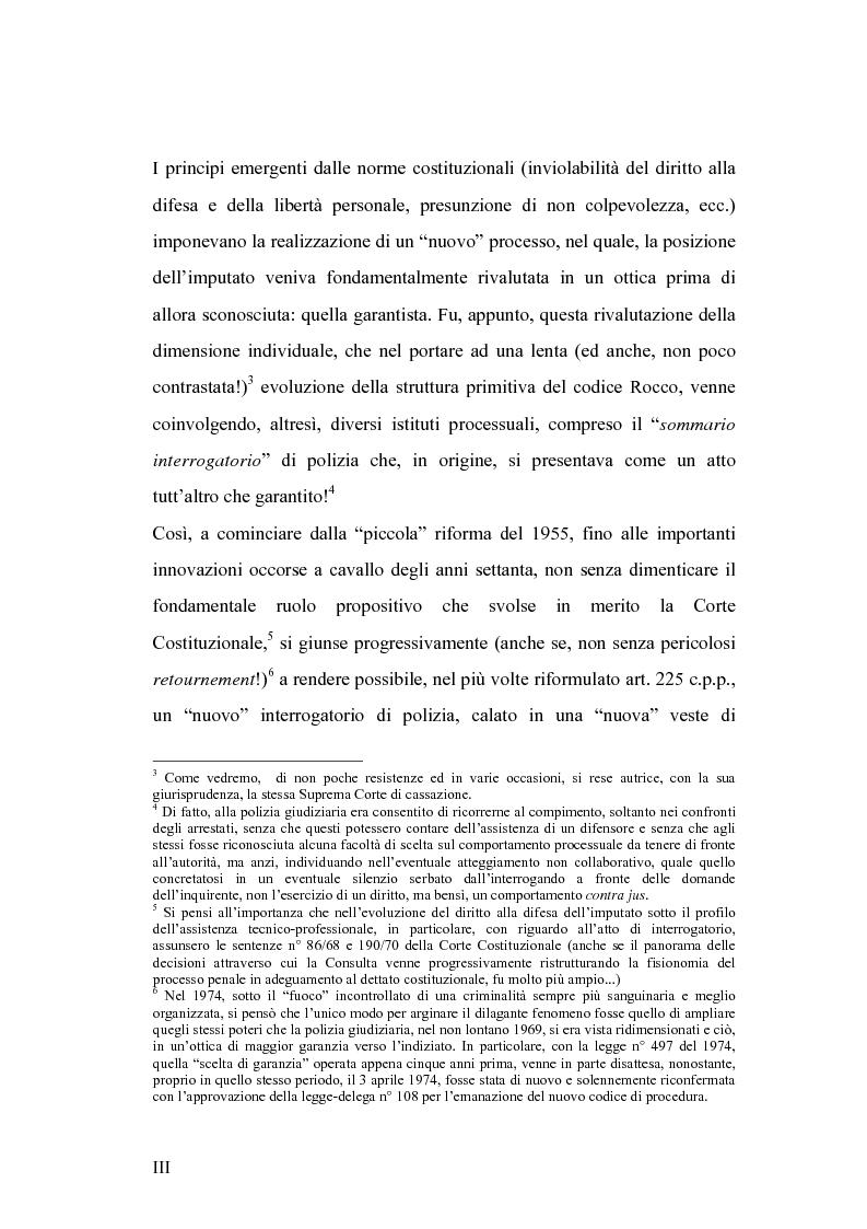 Anteprima della tesi: L'interrogatorio di polizia, Pagina 3