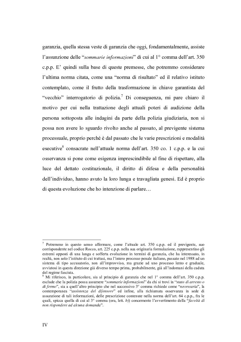 Anteprima della tesi: L'interrogatorio di polizia, Pagina 4