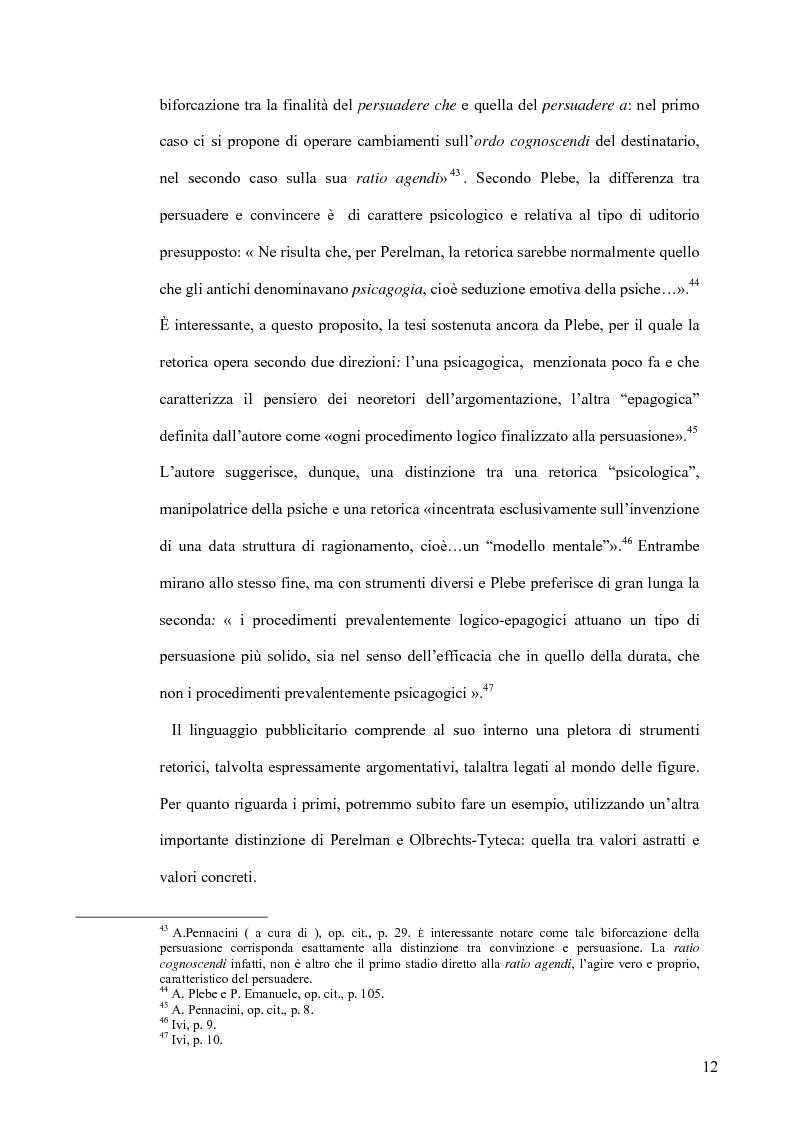 Anteprima della tesi: La retorica tra propaganda e pubblicità, Pagina 11