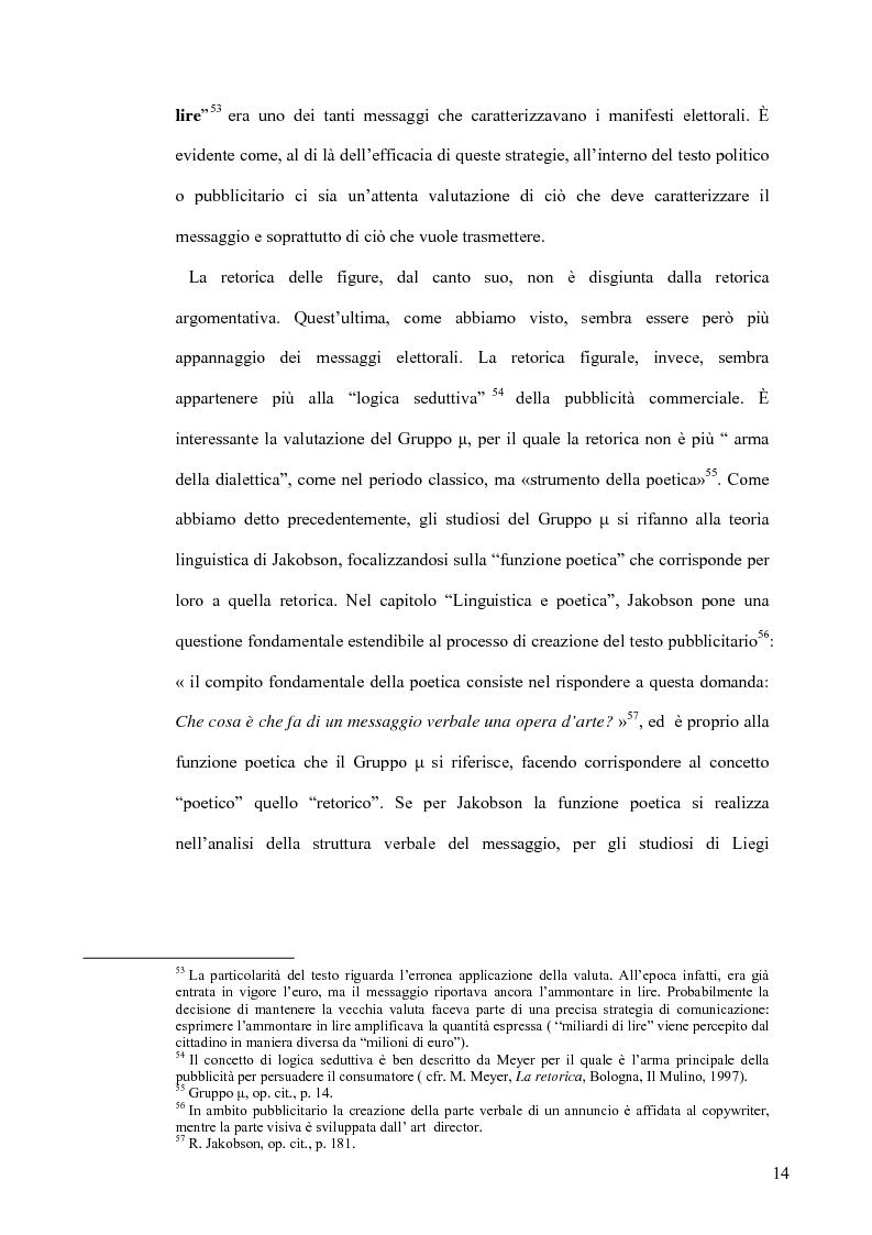 Anteprima della tesi: La retorica tra propaganda e pubblicità, Pagina 13