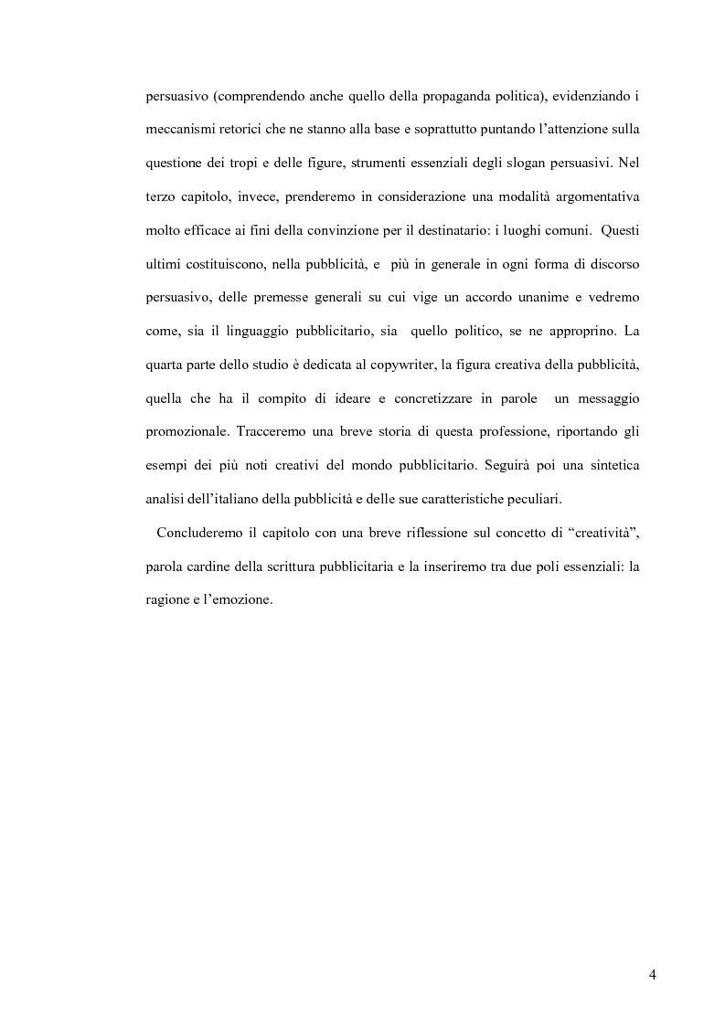 Anteprima della tesi: La retorica tra propaganda e pubblicità, Pagina 3