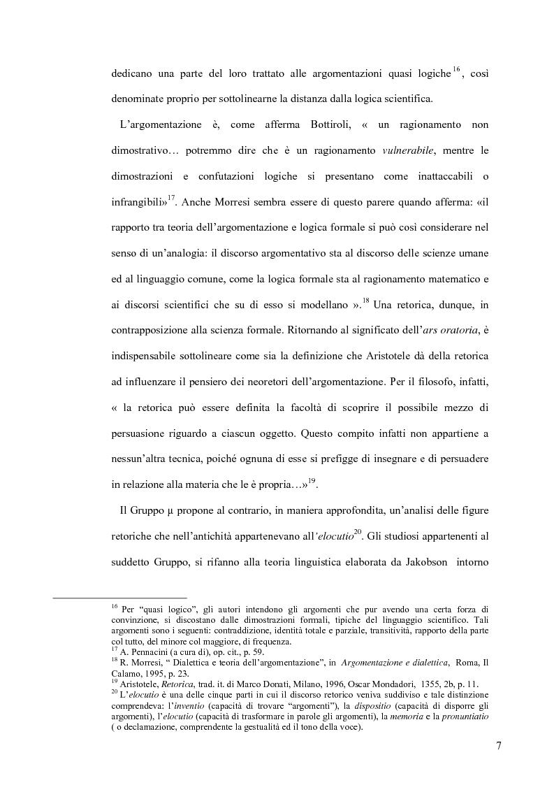 Anteprima della tesi: La retorica tra propaganda e pubblicità, Pagina 6